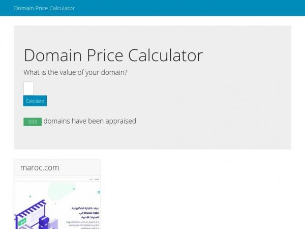 domainpricecalculator.com