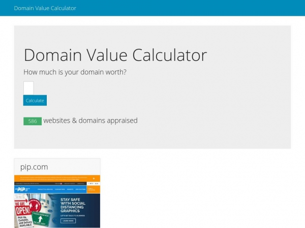 domainvaluecalculator.com